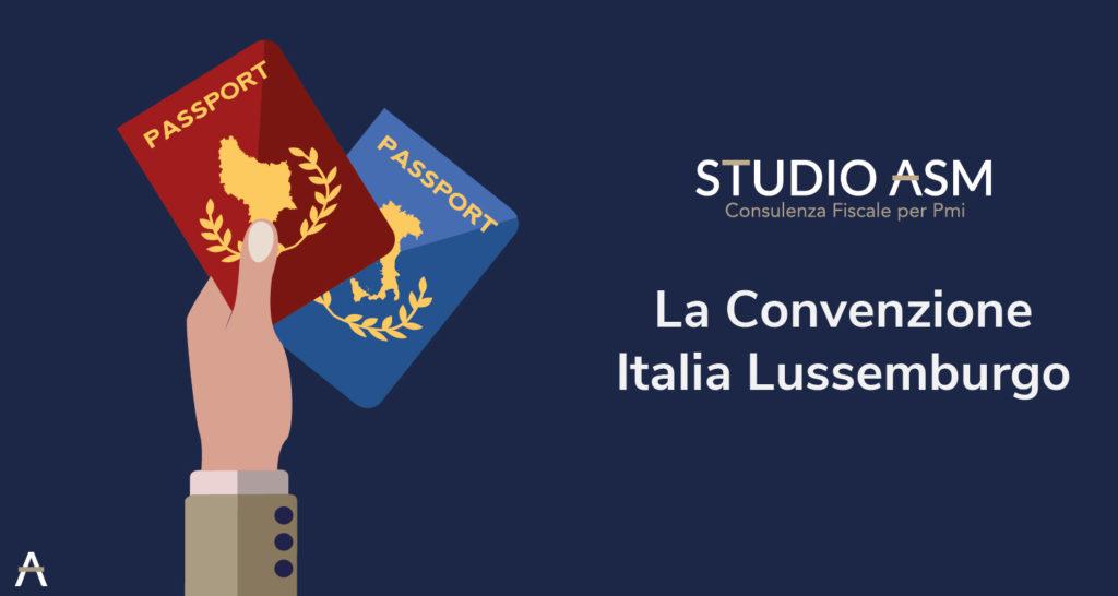 La Convenzione Italia Lussemburgo