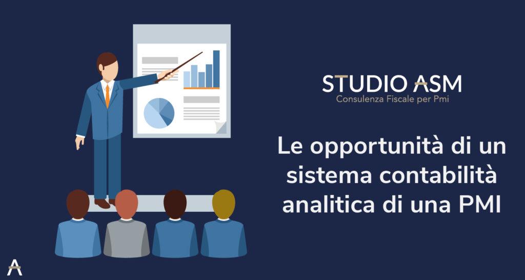 Le opportunità di un sistema contabilità analitica di una PMI