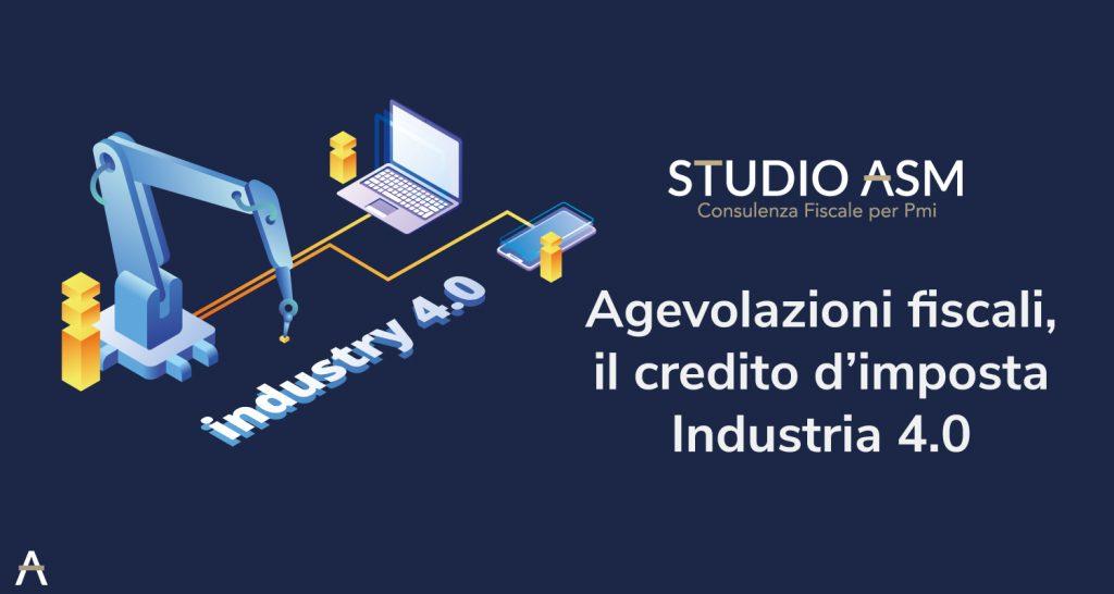 Agevolazioni fiscali, il credito d'imposta Industria 4.0